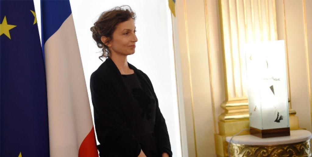 La Fille d'Azoulay, nommée  ministre en France