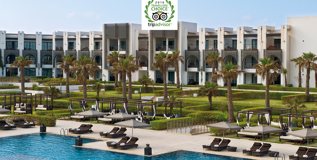 Le Sofitel Agadir Thalassa sea & spa remporte le Prix Travellers Choice TM