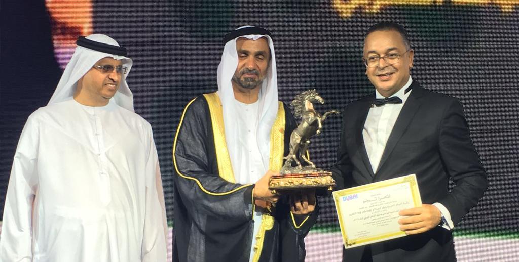 Lahcen Haddad,  primé à Dubaï