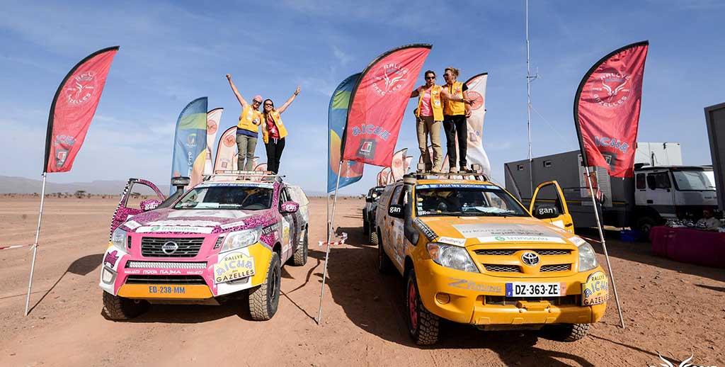 27 ans de Rallye pour le  Trophée Aicha des Gazelles !