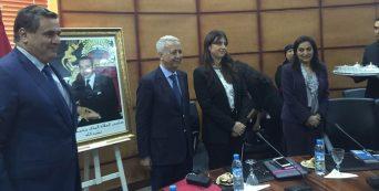 Passation entre Aziz Akhannouch et Mohammed Sajid
