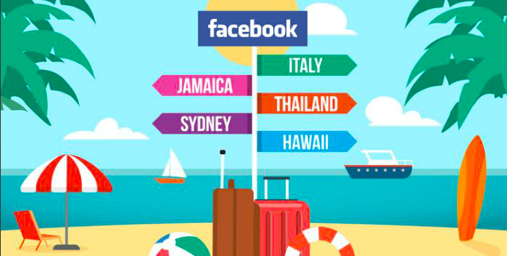 Facebook se met au tourisme!