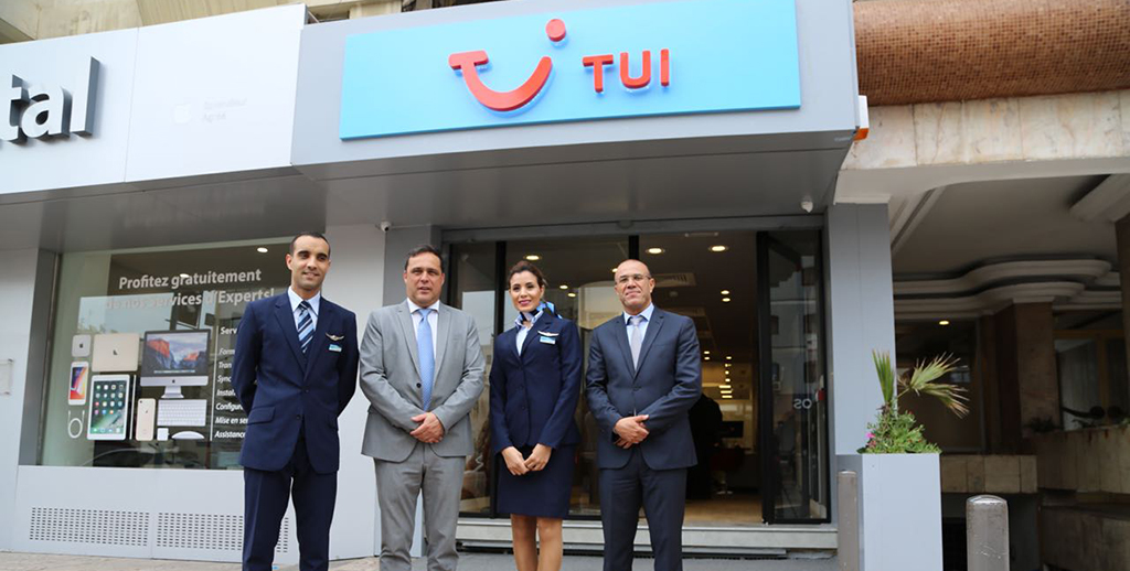 TUI FLY inaugure son premier  TUI Store au Maroc