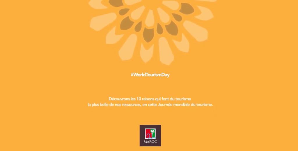 L'ONMT célèbre la Journée mondiale du Tourisme
