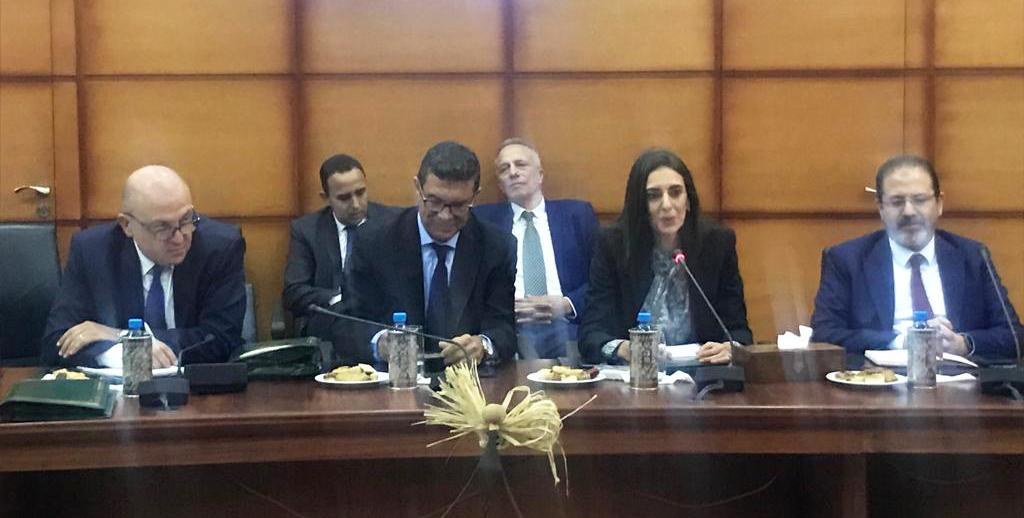 Nadia Fettah Alaoui rencontre les professionnels