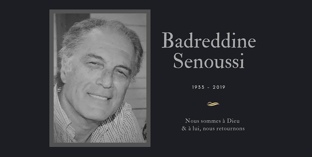 Si Badreddine Senoussi n'est plus