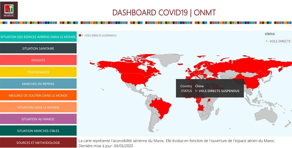 La situation mondiale du tourisme en un clic !