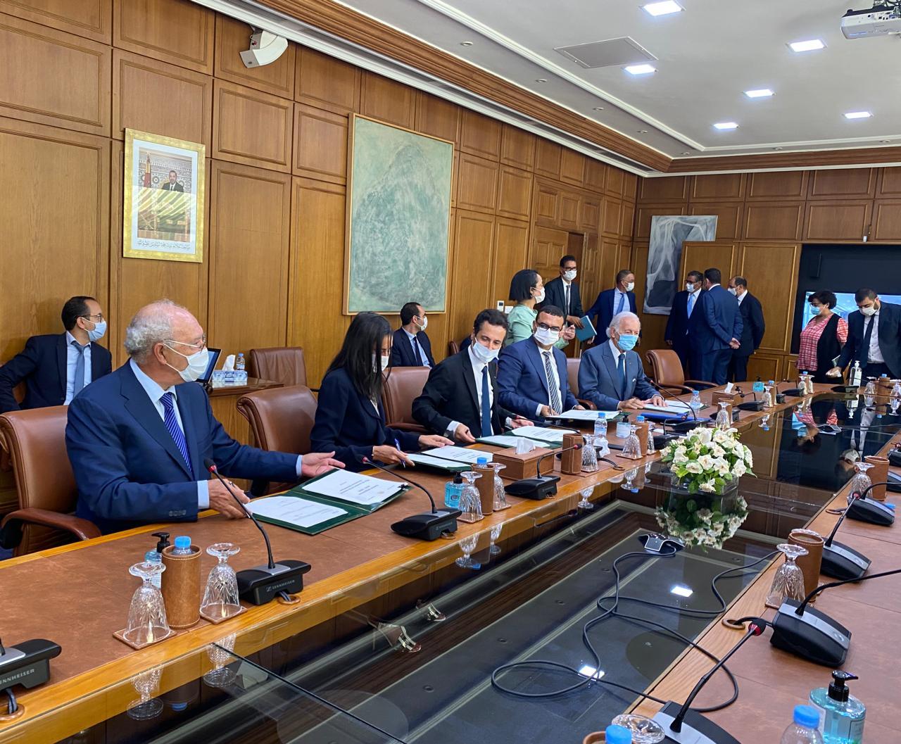 Signature du contrat programme de soutien et de relance du tourisme