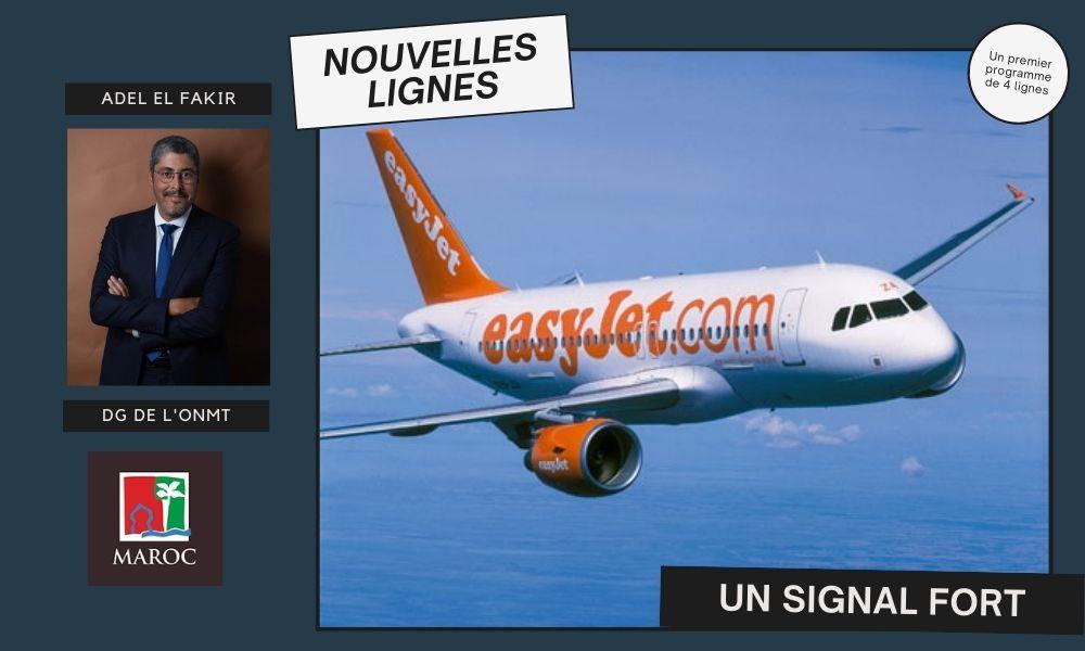L'ONMT amorce le retour d'easyJet dans le ciel marocain