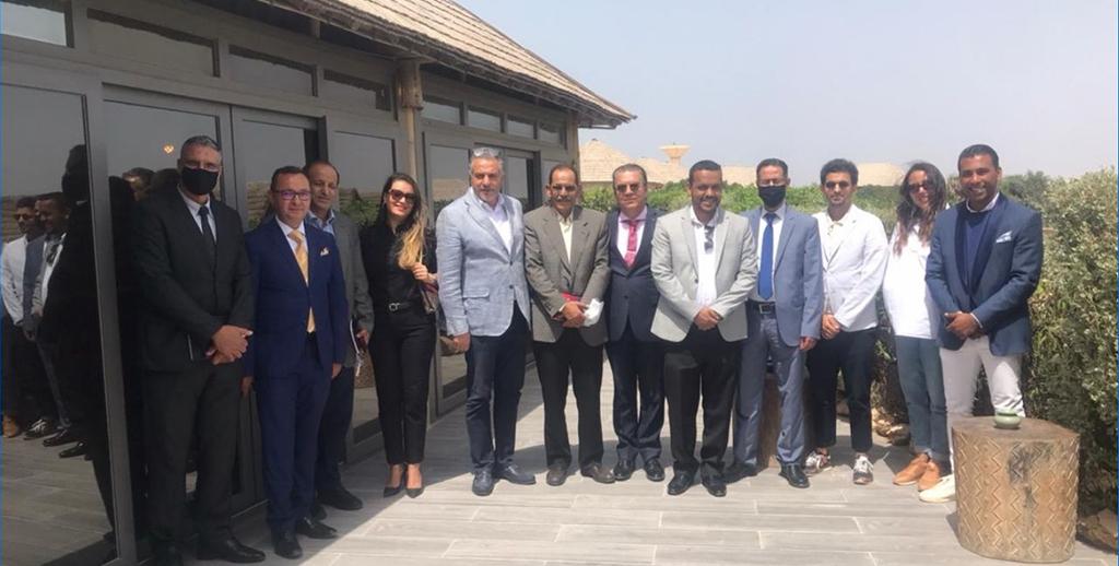 Hamid Bentahar célèbre  la journée mondiale du Tourisme à Dakhla
